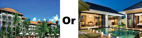 bali hotel atau vila