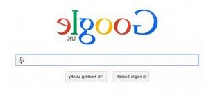 Google terbalik