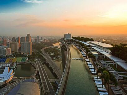 Marina Bay Sands Hotel, Singapura