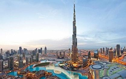 bagunan Burj Khalifa