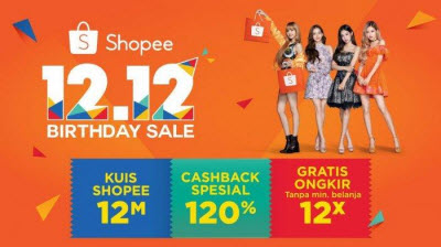 Flash Sale, Promo Shopee Birthday