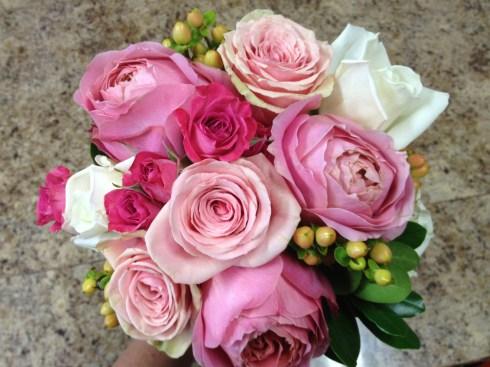 Kristen's bouquet