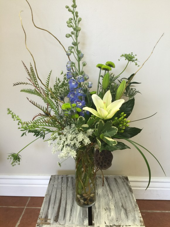 Delphinium_lilies