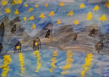 Student version-Starry Night-2