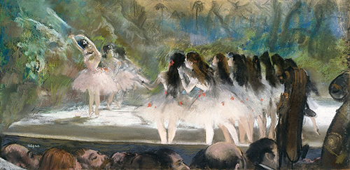 Painting of Ballet Dancers
