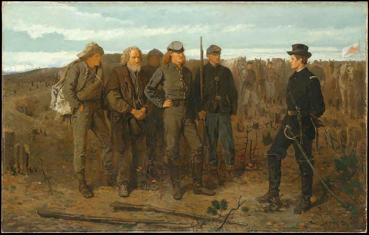 Prisoners From the Front-1866