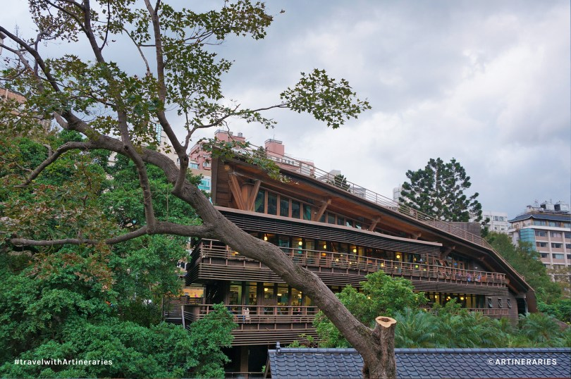 The very pretty Beitou Public Library