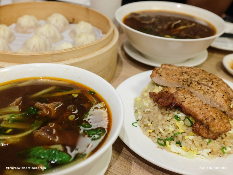 Din Tai Fung lunch / Photo by Ivan Angelo