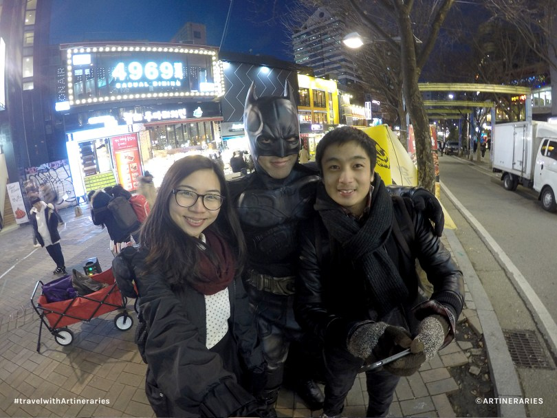 Look who we spotted in Hongdae!