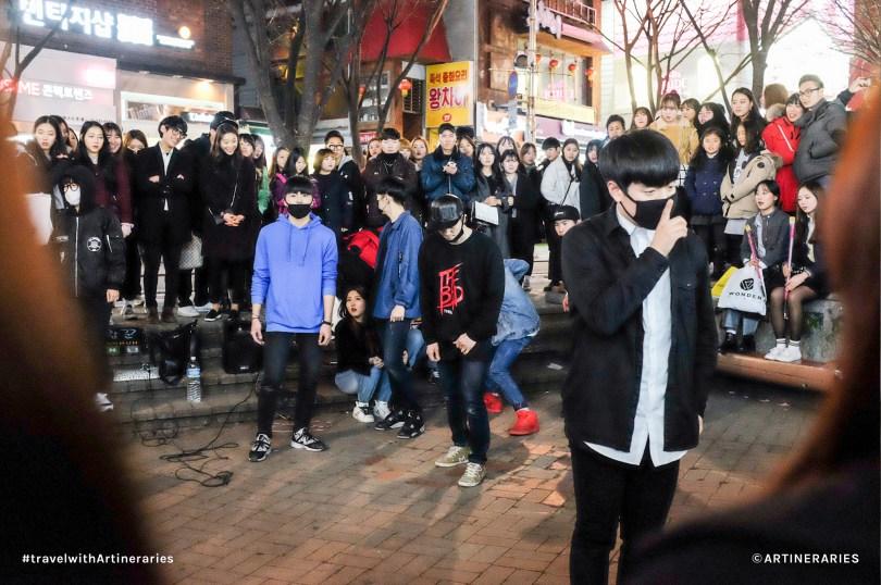 One of my favorite street performances in Hongdae / Photo by Ivan Angelo