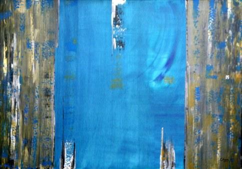 Charru Goel Colors of Life 30x40 Inch Acrylic on Canvas