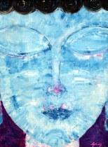 Goldy Malhotra Diamond Sutra 24x18 Inch Oil on Canvas