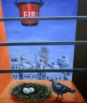 P R Malik Untitled 21x25 Inch Acrylic on Canvas