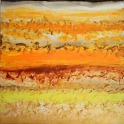 Mukesh Kumar Fantasy Landscape 10 Acrylic on Canvas 42 x 42 Inches