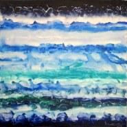 Mukesh Kumar Fantasy Landscape 7 Acrylic on Canvas 42 x 42 Inches