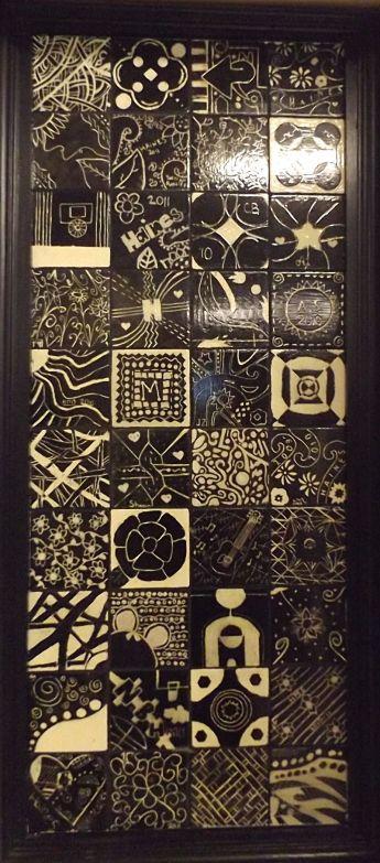 Haines B & W Mosaic