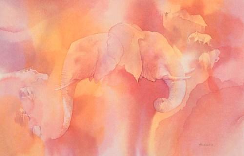 Elephant! © Alison Nicholls 2013