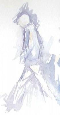 Bryant Park watercolor sketch by Alison Nicholls