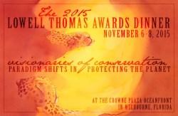 Sun Spots by Alison Nicholls: Explorers Club Lowell Thomas Awards Dinner