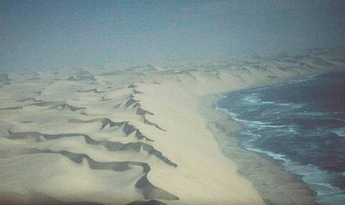 Namibian Dunes meet the Atlantic