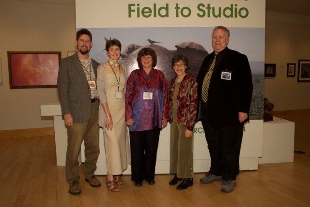 Wildlife Art: Field to Studio at the Flinn gallery, Greenwich, CT, with artist Alison Nicholls