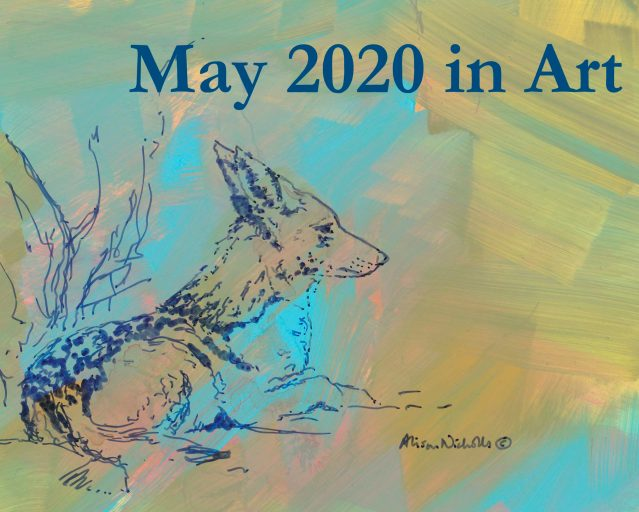 May 2020 in Art video by Alison Nicholls