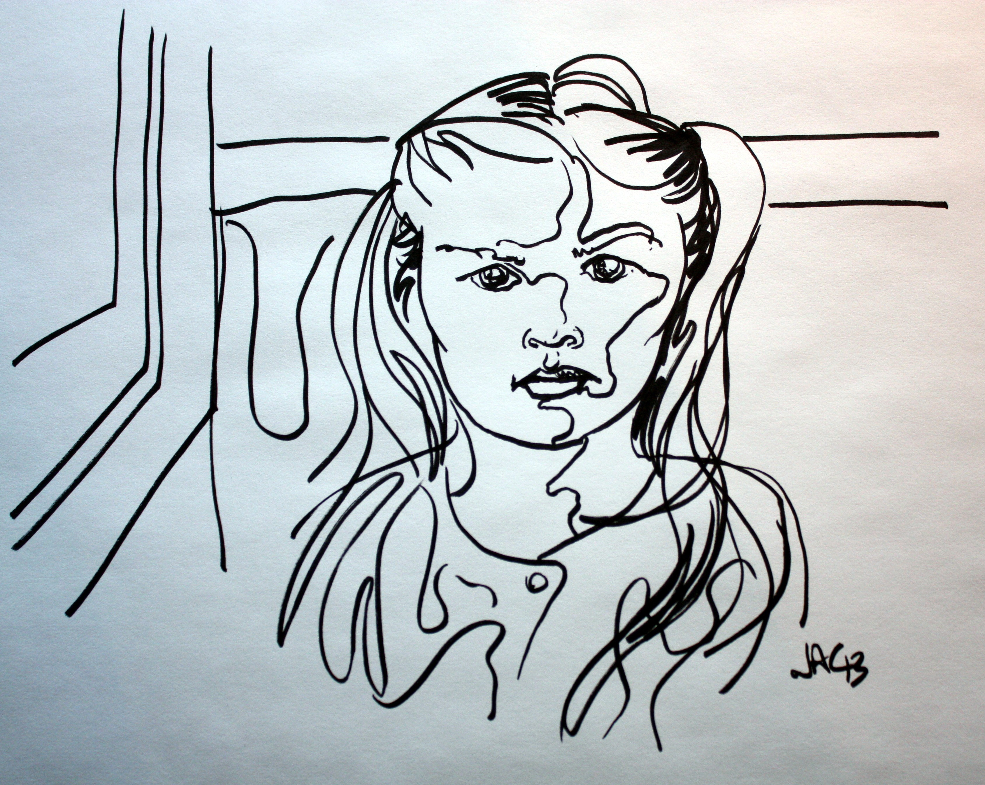 A Contour Drawing