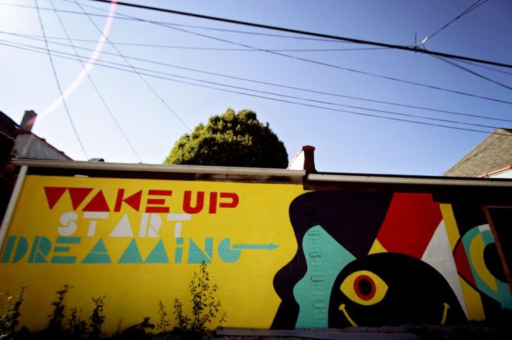 "Phillip Lauri ""Wake up Start Dreaming"" - Hancock Alley"