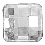 SQUARE FACET CRYSTAL 12 MM