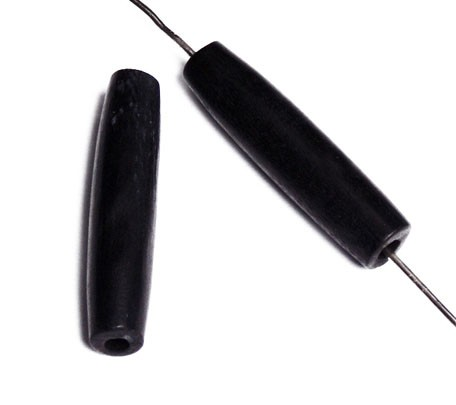 HAIRBONEPIPES OVAL BLACK 1 PO