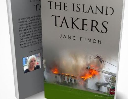 The Island Takers by Jane Finch