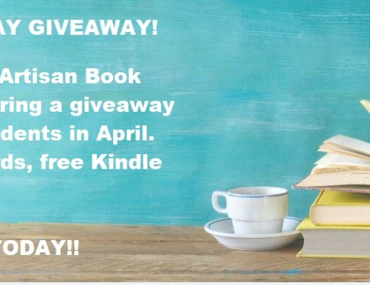 SPRING TRIPLE-PLAY GIVEAWAY – WIN BOOKS, GIFT CARDS & MORE!