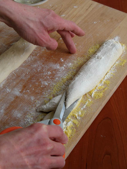 Cutting Pain d'Epi (Wheat Stalk Bread) Dough | Artisan Bread in 5 Minutes a Day