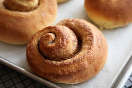 Baked Brioche Cinnamon Rolls | Artisan Bread in 5 Minutes a Day