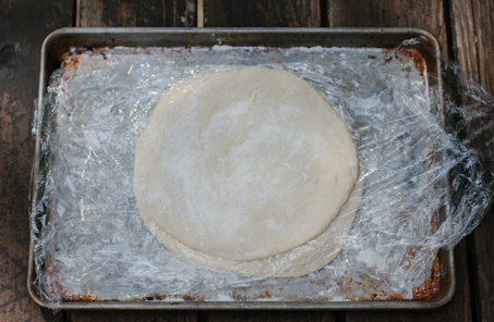 Preparing Pizza Dough for Grill | Artisan Bread in Five Minutes a Day