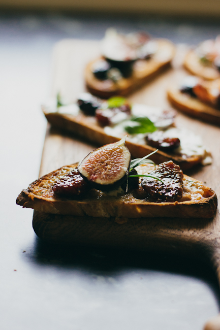 Bruschetta with Fig Compote | Artisan Bread in Five Minutes a Day