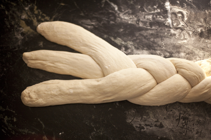 Braided Peasant Bread Before Baking | Artisan Bread in Five Minutes a Day