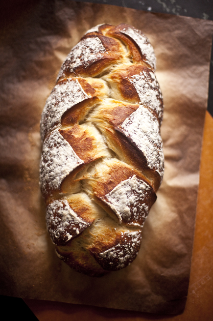 Braided Peasant Bread | Artisan Bread in Five Minutes a Day