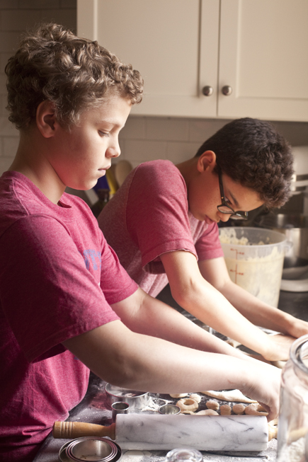 Kids Making Doughnuts | Artisan Bread in Five Minutes a Day