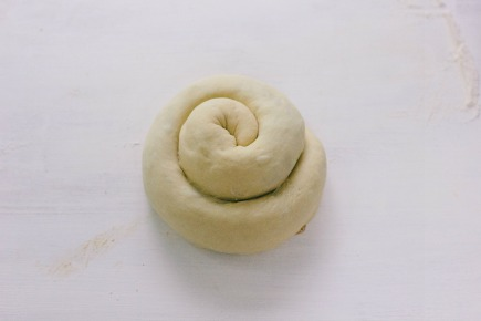 Caramel Apple Brioche Dough Rolled Up | Artisan Bread in Five Minutes a Day