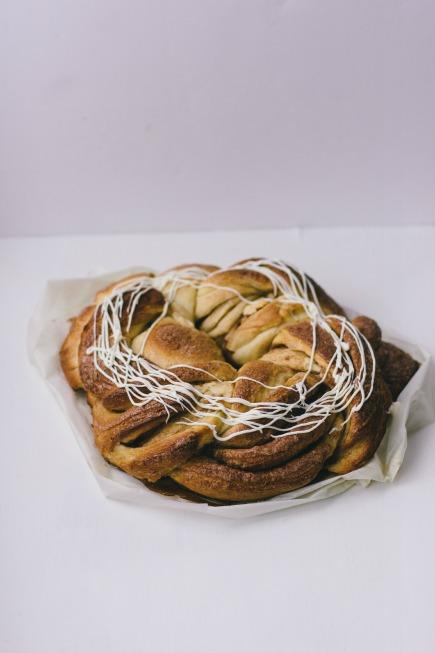 Cinnamon Brioche Wreath   Artisan Bread in 5 Minutes a Day