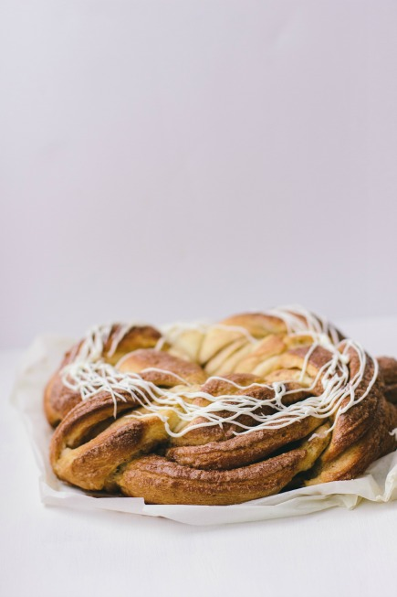 Cinnamon Brioche Wreath | Artisan Bread in 5 Minutes a Day