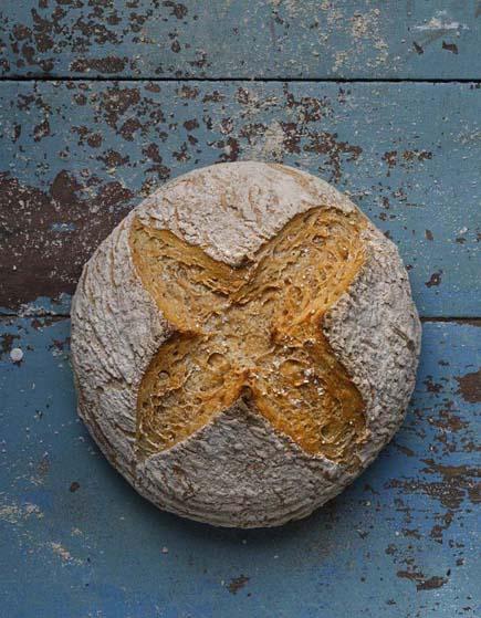 GF boule from gluten-free artisan bread in five