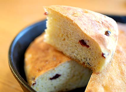 Cranberry Cornbread | Bread in 5