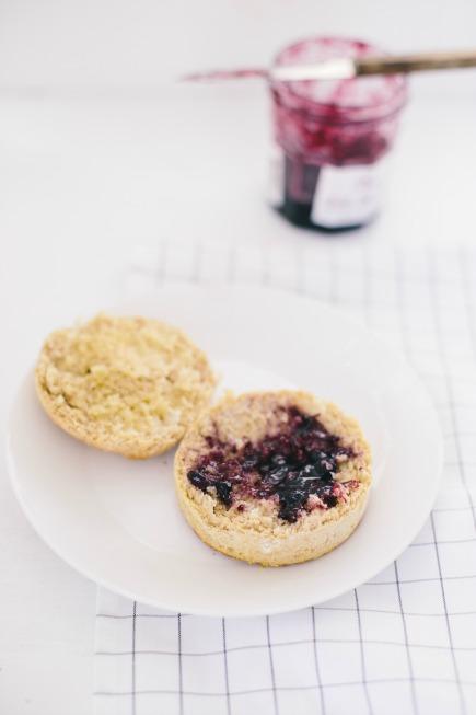 spelt english muffins