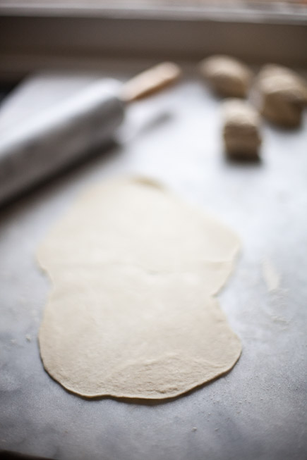 Homemade Matzoh Dough Rolled Out | Artisan Bread in Five Minutes a Day