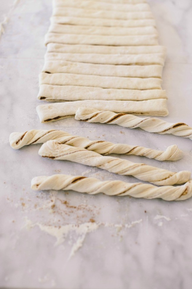 Assembling Cinnamon Twists | Artisan Bread in Five Minutes a Day