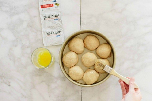 Brushing Bread Dough with Egg Wash   Artisan Bread in Five Minutes a Day
