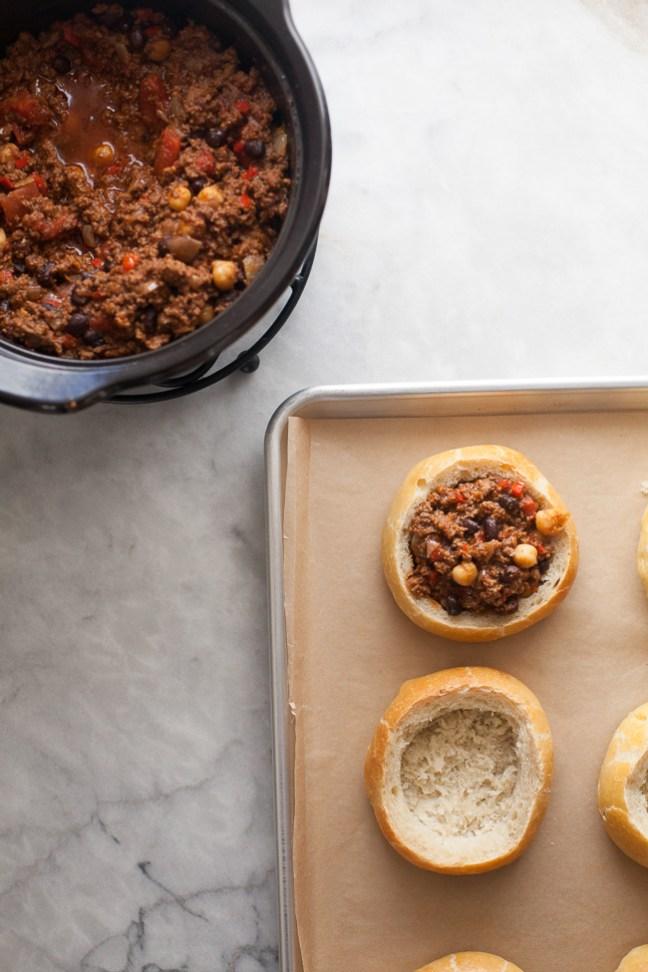 Chili Bread Bowls Recipe | Artisan Bread in Five Minutes a Day