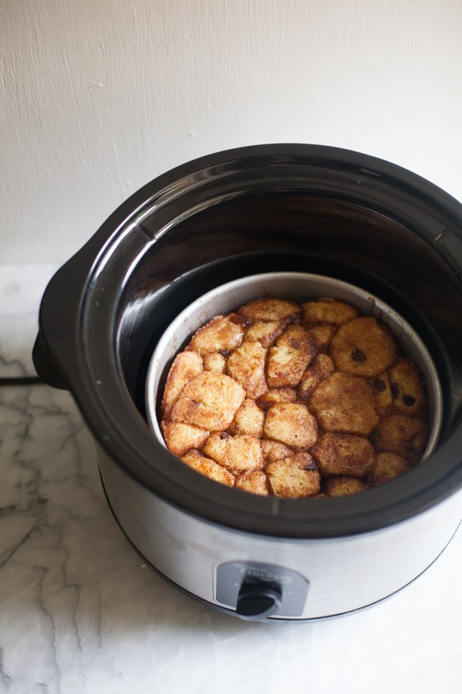Monkey Bread in the Slow-Cooker (Crock-Pot) | Artisan Bread in 5 Minutes a Day